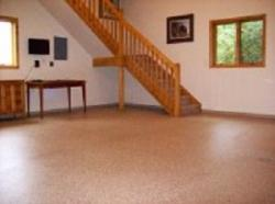 Epoxy floor TerraChip system